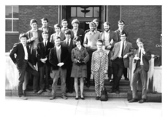 Student Year Group Photo - Bsc Geology c.1967